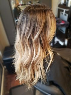 Balayage Blonde Highlights And Shadow Root By Danielle Mikolaizik Source: Balayage Ombre Shadowroot Grey Hair Color From Balayageombre Hair Color And Cut, Ombre Hair Color, Hair Colour, Ombré Hair, Hair Day, Balayage Hair Blonde, Balayage Highlights, Dark Blonde Highlights, Bayalage