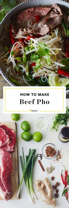 How To Make Homemade Vietnamese Pho: The Best Method and Recipe for Most Home Cooks. This pretty authentic beef pho recipe is a long process, but it's so worth it! This slow cooking and slow simmer soup is comfort food at it's finest. The step by step tutorial will ensure perfect pho every time! Great if you're looking for recipes to use up beef knuckle or shank bones into a flavorful broth.