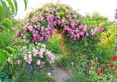 Schön gestaltete und bepflanzte Torbögen und Durchgänge werten einen Garten enorm auf und eignen sich perfekt, um den Garten in verschiedene Räume zu unterteilen. Lassen Sie sich von unseren Gestaltungsideen inspirieren!