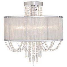 Office Lighting, Home Lighting, Crystal Ceiling Light, Ceiling Lights, Welcome To My House, Globe Chandelier, Chandeliers, Candelabra Bulbs, Flush Mount Lighting
