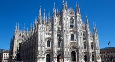 Duomo di Milano, in Milan, Italy. (From: 10 Most Beautiful Churches) #monogramsvacation