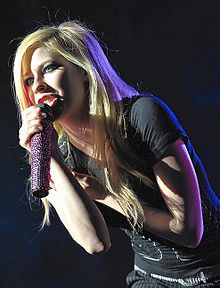 "Lavigne performing in Amsterdam in 2008,Initial critical response to The Best Damn Thing was positive. At Metacritic, which assigns a normalized rating out of 100 to reviews from mainstream critics, the album has received an average score of 66, based on 19 reviews.[27] The New York Times describe the album as ""every word and every note on Avril Lavigne's third album, is delivered as if it leads to an exclamation point!"