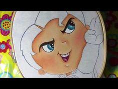 Pintura en tela Superman # 1 con cony - YouTube