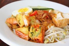 My Kitchen Snippets: Mee Rebus/Noodles in Sweet Potato Gravy