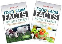 AgFoundation.org - American Farm Bureau Foundation for Agriculture Activity Cards for grades 4-6 or 7-12 supporting National Learning Standards & Common Core.