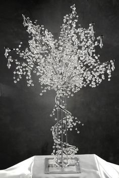Crystal Wedding Trees 3 foot $169.00 (fully assembled)
