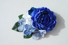 Beautiful royal blue ranunculus with blue by SophisticatedFlowers