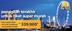 Halo Travelers, yang rencana jalan jalan ke #Singapura  jangan sampai kelewatan promo dari #TigerAir yang satu ini Jangan lupa, booking di : http://ow.ly/NNy2R  #TiketPesawat #TiketMurah #Promo #Singapore #JalanJalan #Travel #Backpacker #Traveling #Liburan #Backpacking #Trip #Sale