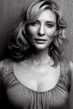 If I was ever in love with a woman, it would be Cate Blanchett. She is too incredible for words!  =)