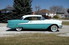 1955 Oldsmobile 88 Rocket  Hardtop Our family had one just like this one. Loved it!