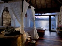 Master suite @ Jade Mountain resort