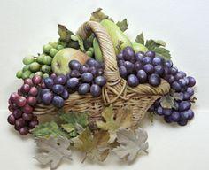 廃業したキャロルウィルソンの葡萄の絵で作った生徒さんの作品