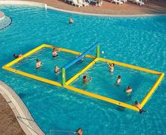 (18) Fancy - Water Volleyball Court