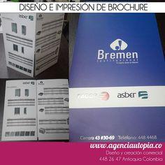 BROCHURE - Brochure diseñado con las últimas tendencias del branding corporativo. Branding, Stationery Design, Latest Trends, Brand Management, Identity Branding