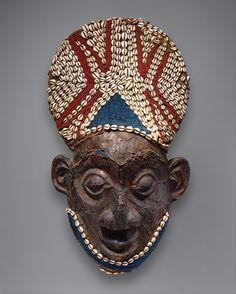 Helmet Mask, before 1880, Cameroon, Grassfields,  Bamum kingdom