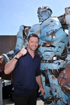 Hugh Jackman is Real Steel at Comic-Con
