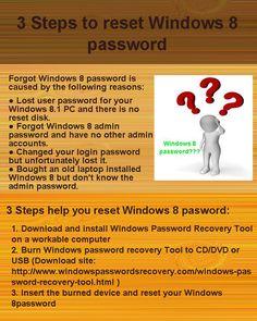 forgot windows 8 admin password