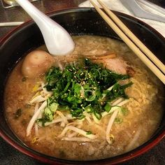 "Vincent Lim writes: ""I think the best place to get ramen in LA is Daikokuya, but I haven't tried Tsujita yet. It's always a long wait to get in, but the tasty ramen broth is worth it."""