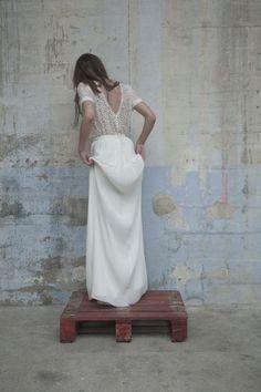 Robes de mariée - Elise Hameau - Collection 2017 | Modèle: Beth-Lina | Photographe: Romina Shama | Donne-moi ta main - Blog mariage