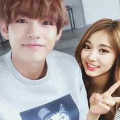 Taehyung and Tzuyu are bestfriends but when a boy comes Tzuyu started… Couple Swag, Swag Couples, Kpop Couples, Cute Couples, Ideal Girl, Ideal Man, Bts Twice, Alone In The Dark, Messy Room