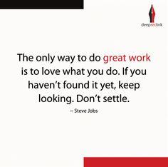 #Great #Work #SteveJobs