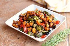Balsamic Rosemary Roasted Vegetables Recipe