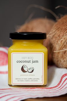 Coconut jam? Don't mind if we put it on EVERYTHING. #noms