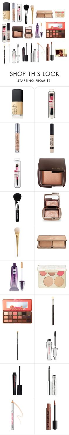 """""""Zoella - Bronzed Nude Summer Makeup Look!"""" by zoellaispretty on Polyvore featuring beauty, NARS Cosmetics, Urban Decay, Hourglass Cosmetics, Sigma, Charlotte Tilbury, Becca, Too Faced Cosmetics, MAC Cosmetics and Benefit"""