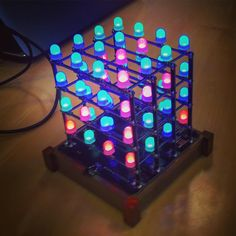 Amazing remote control animated LED matrix last night at @hackerspacela #technology #arduino #electronics #fun #meetup #hackerspacela via Instagram [Photo] | My Word with Douglas E. Welch
