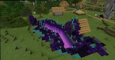 Minecraft Portal, Plans Minecraft, Minecraft Building Guide, Minecraft House Tutorials, Minecraft House Designs, Amazing Minecraft, Minecraft Tutorial, Minecraft Blueprints, Minecraft Creative Ideas