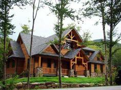 Love log cabins dream-houses-i-love