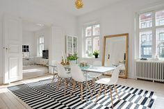 alfombras diseño a rayas