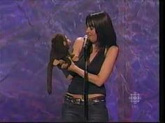 Nina Conti subversive ventriloquist whose monkey puppet eventually occupies her body.  Genius.