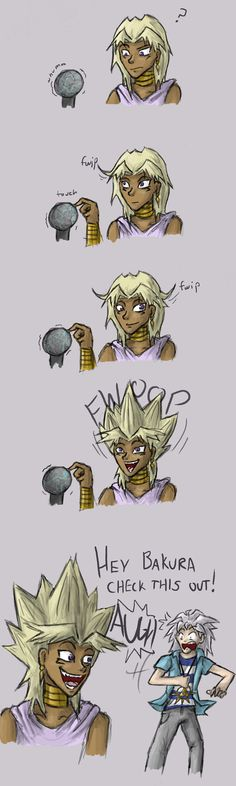 Marik Discovers Static Electricity by Humming-Fly.deviantart.com on @deviantART