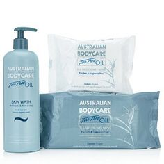 Australian Bodycare Skin Wash & Wipes Collection