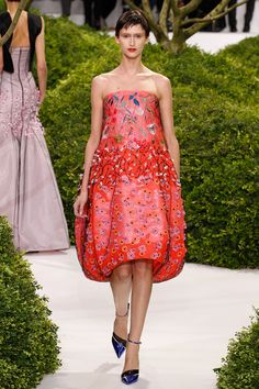 Christian Dior Spring 2013 Couture - Review - Fashion Week - Runway, Fashion Shows and Collections - Vogue - Vogue