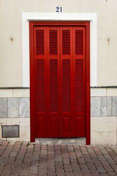 Arta, Mallorca, Spain Entry Doors, Entrance, Garage Doors, Entryway, Behind The Green Door, Country Hotel, Door Numbers, Place Of Worship, Doorway