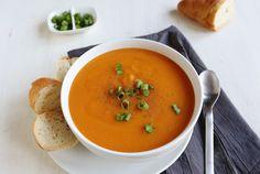 Creamy Double Potato Soup (via abeautifulmess.com)
