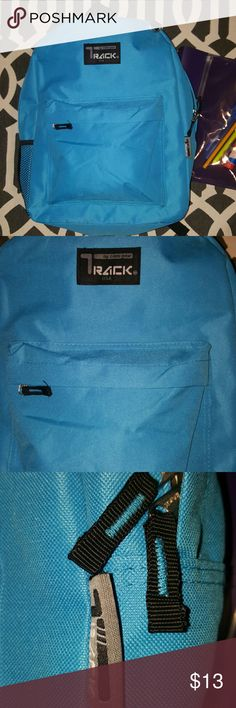 """NWOT school backpacks 🆕 [Still in plastic] The durable, rugged canvas main compartment is padded to handle all the note books and binders you can throw in it comfortably and keeps things in their place with a zipper closure. A fully lined linen interior makes cleanup of accidental broken pens easy 600D Polyester Overall dimensions: 16.5"""" x 13"""" x 5"""" Exterior front zippered pocket Main zippered closure with high quality nylon fabric interior Comfortable 3-inch padded adjustable shoulder…"""