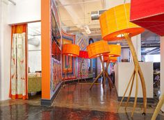 Etsy Headquarters. Can't remember where the link came from but I love the oversized features.