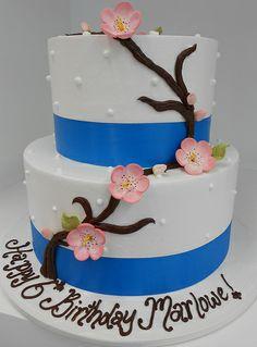 Cherry Blossom Cake (1562)