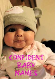 Top Confident Baby Names for Boys #parents #pregnancy #parenting #babies #cute