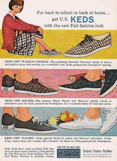 KEDS 1960. vintage. school uniforms. #KedsXMadewell