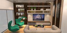 Construindo Minha Casa Clean: Consultoria de decoração de interiores: Sala de Estar e Jantar com Cinza!