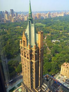 NYC. Central Park view from GM building // by Joseph Paulino, Neighborhoods Series