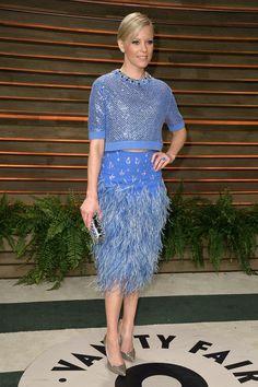 Elizabeth Banks. La fiesta post Oscar de Vanity Fair 2014