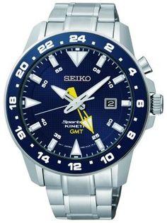 Seiko Sportura for Men Kinetic GMT 5M85 SUN017P1
