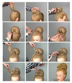 Foto: Hairstyle By Sklemina Tatiana The art of hair design images Hair Academy www.facebook.com/HairAcademy.Cengizdik