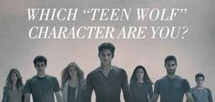 """Which """"Teen Wolf"""" Character Are You I got Derek!!!! Hahaha I didn't see that coming:D"""