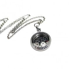 Stainless steel compass locket necklace. Gifts for her this Valentine's Day #valetine #love #giftideas #gifts #jewelry #couples #shopping